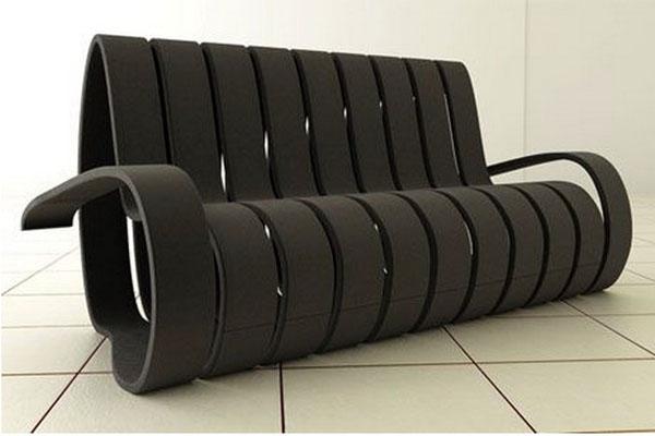 Диван спираль