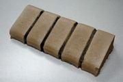 Укладка гибкого бордюра из бетона с рисунком - foto 6