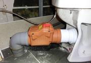 монтаж обратного клапана канализации - foto 0
