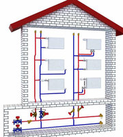 Отопление коттеджа: организация автономной системы отопления