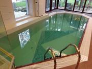 Как облагородить бетонный бассейн